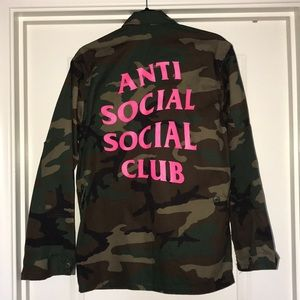 Anti Social Social Club army jacket